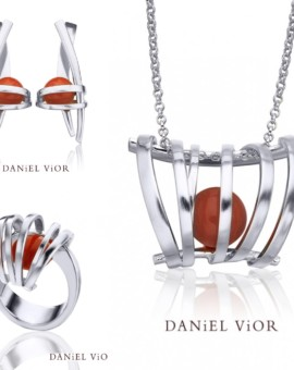 Asir Handmade Silver Coral Collection by Daniel Vior