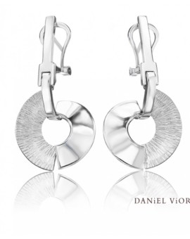 Apoaxis Handmade Solid Silver Earrings by Daniel Vior